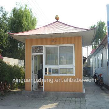 prefab house, mobile home, steel villa for family