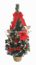 mini artificial christmas tree crafts Display