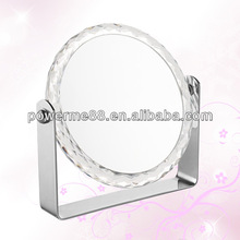 double sided 10X table mirror