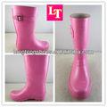 Atacado rosa barato calçados para meninas antiderrapante impermeável 100%