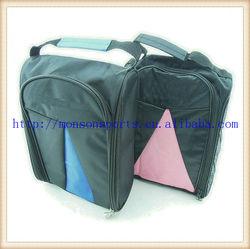 2013 promotional nylon golf shoe bag travel storage ventilated tote bag zip bag