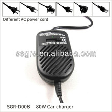 80W adjustable power usb sim adapter for laptop