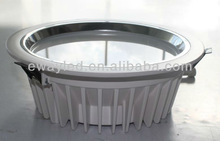 High lumens flux! 6 inch 20w LG SMD5630 recessed dimmable round led shop fixture with CE SAA approved