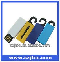 Aulminum Top Selling Super Mini USB Flash, Gift USB