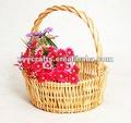 pcs 3 cestas de mimbre artesanal