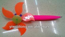 2014 new design ballpoint pen with windwill