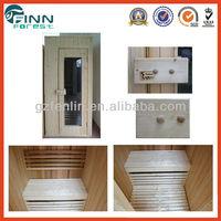 Spruce wooden 1.5M*1.5M Sauna steam Room