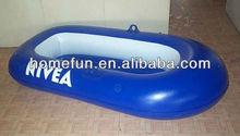 kid/baby single floating pool boat/inflatable fishing boat