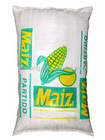 white PP woven maize/corn/grain bag printing one side