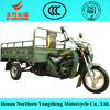 cargo tricycle three wheels motorcycle with car rear axle