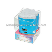 Portable Gift Mini Speaker Play with MP3/MP4/ipod/mobile/laptop
