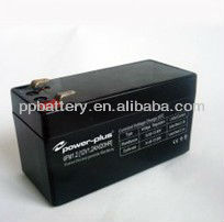 12V 1.2AH/20HR Sealed Rechargeable 6FM1.2 Lead Acid Battery FCC,CE and RoHS Authentication
