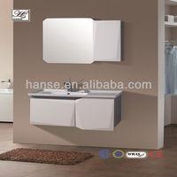 metal bathroom vanity top with rectangular sink to public baseHS-C2358