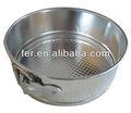 Alumínio antiaderente primavera formulário pan, Springform bolo pan, Molde do bolo 111582