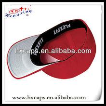 High quality 6 panel custom blank plain flexfit cap