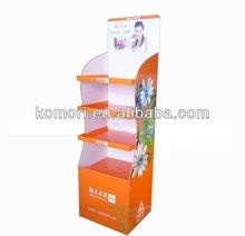 Komori 4 tiers cardboard display stand