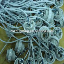 63) UL standard E26 ceramic lamp socket revit for wires