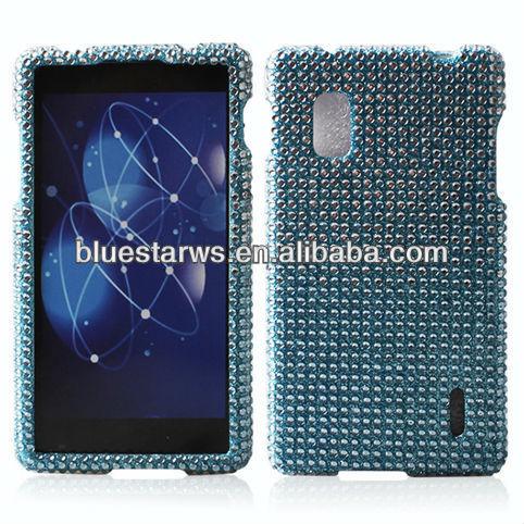 Crystal Diamond Bling Hard Case Phone Cover For LG E970