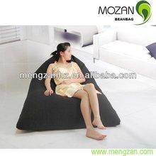 indoor black cotton beanbag sofa,beanbag lay chair,beanbag sits