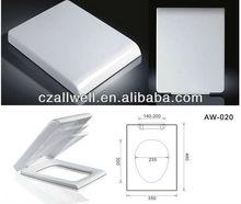 plastic toilet seat cover white colors soft close
