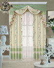 the latest design of luxuriant hotel cloth curtain