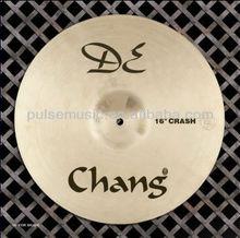 "CHANG DE Copper B20 8"" Splash drumset Cymbal"