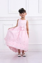 2013 new designed handmade embroidered baby girl frock
