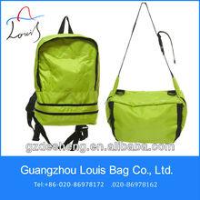 Guangzhou 2013 waterproof backpack and can fold as waist