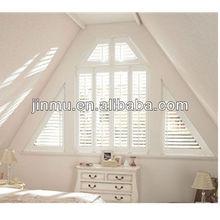 Special shaped shutter window