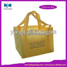 Square Bottom Cotton Handle Shopping Bag