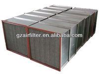 99.97% industrial filter deeppleat hepa air filter h13