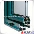 2013 popular de aluminio de extrusión perfil/ventana de perfil de aluminio