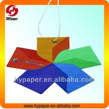 Colorful kite shape hanging paper car air freshener&perfume