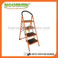 aprobado en14183 4 paso escalera de acero con material y el color naranja