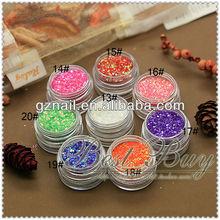 sparkle nail art powder