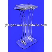 innovation acrylic plexiglass podium pulpit