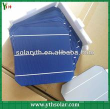 2013 high efficiency monocrystalline solar cells 6x6,solar photovoltaic 3BB 156X156mm cells,cheap photovoltaic cells for sale