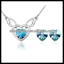 Angel Jewelry sets and Fashion Jewelry sets in 18 White Gold