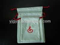 2014HOT SALE Green Eco-friendly recyclable cheap custom drawstring bag