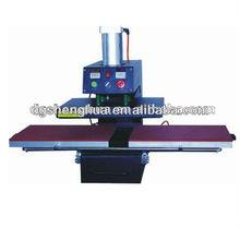 Sublimation Tshirt heat press machine pneumatic two courses