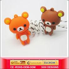 2013 Cute PVC cartoon USB flash drive