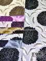 2013 jacquard de terciopelo tela de tapicería