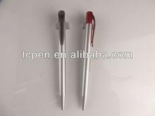 Promotional silver plastic pens TC-P13028
