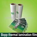 Thermo matt laminação filme, feita de bopp