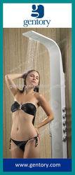 Rain shower set, Elegant design shower column, White Color Aluminum Alloy Shower Panel A109