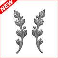 hojas de acero fundido