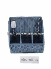 Office willow document box for book/document( factory supply)