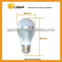 Best seller e27 12v dc solar bulb