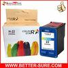 Premium remanufactured color printer cartridge for HP 22 (C9352A)