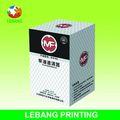 Brillante laminación / Origami / plegable / plegable caja de papel corrugado